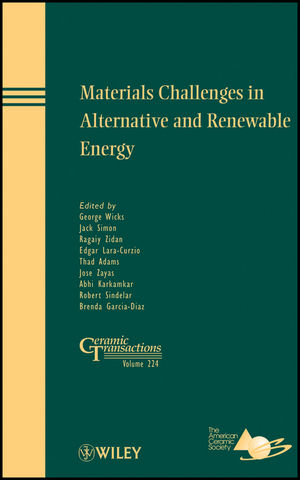 Materials Challenges in Alternative and Renewable Energy (1118019458) cover image