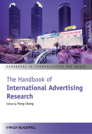 The Handbook of International Advertising Research (1118378458) cover image