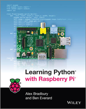 Book Cover Image for Learning Python with Raspberry Pi