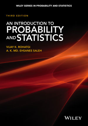 An Introduction to Probability and Statistics, 3rd Edition (1118799658) cover image