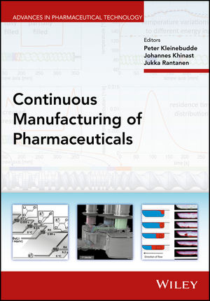 Continuous Manufacturing of Pharmaceuticals (1119001358) cover image