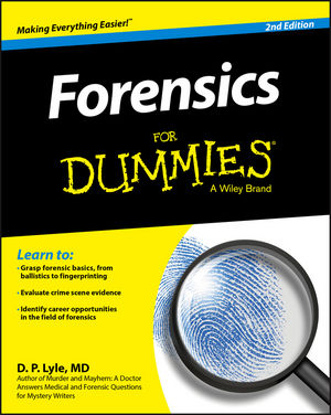 Forensics For Dummies, 2nd Edition (1119181658) cover image