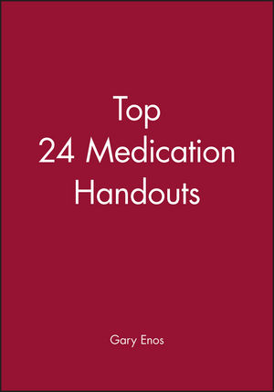 Top 24 Medication Handouts (1119284058) cover image