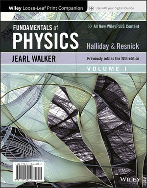 Fundamentals of Physics, Volume 1, 11th Edition