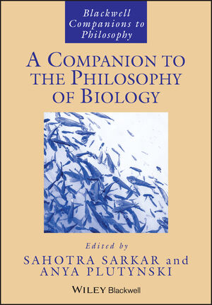A Companion to the Philosophy of Biology (1444337858) cover image