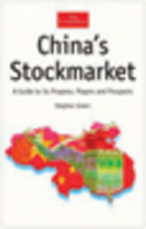 China's Stockmarket: A Guide to its Progress, Players and Prospects (1861976658) cover image