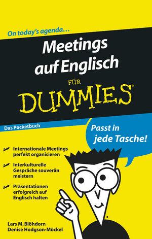 Meetings auf Englisch für Dummies, Das Pocketbuch