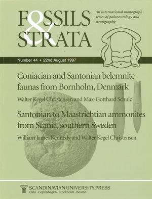 Coniacian and Santonian belemnite faunas from Bornholm, Denmark / Santonian to Maastrichtian