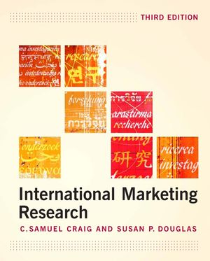 International Marketing Research, 3rd Edition