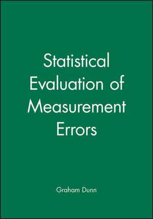 Statistical Evaluation of Measurement Errors