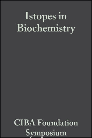 Isotopes in Biochemistry (0470714859) cover image