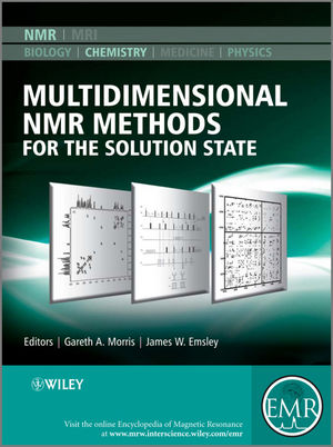 Multidimensional NMR Methods for the Solution State (0470770759) cover image