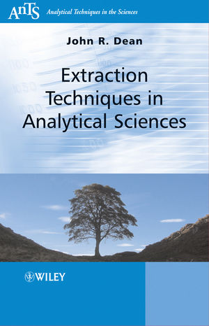 Extraction Techniques in Analytical Sciences (0470772859) cover image