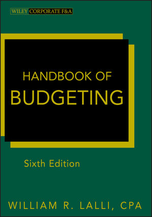 Handbook of Budgeting, 6th Edition