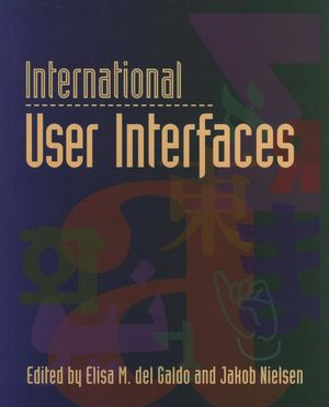 International User Interfaces (0471149659) cover image