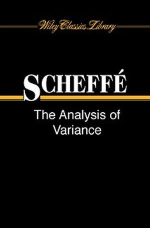 The Analysis of Variance (0471345059) cover image