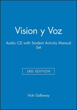 Vision y Voz, 3e Audio CD with Student Activity Manual Set