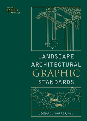 Landscape Architectural Graphic Standards (0471477559) cover image
