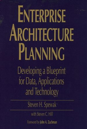 Enterprise Architecture Planning: Developing a Blueprint for Data, Applications, and Technology (0471599859) cover image