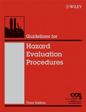 Guidelines for Hazard Evaluation Procedures, 3rd Edition (0471978159) cover image