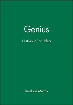 Genius: History of an Idea