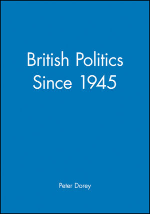 British Politics since 1945 (0631190759) cover image
