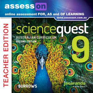 Assesson Science Quest 9 Australian Curriculum Edition Teacher Edition 2E (Online Purchase)