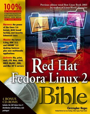 Red HatFedoraLinux2 Bible (0764557459) cover image