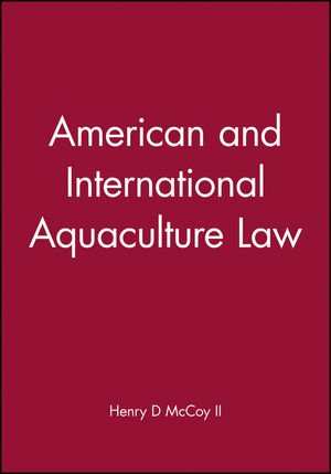 American and International Aquaculture Law (0970131259) cover image