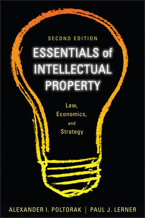 Essentials of Intellectual Property: Law, Economics, and Strategy, 2nd Edition (1118009959) cover image