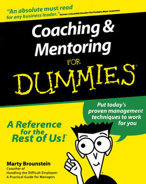 Coaching and Mentoring For Dummies (1118053559) cover image