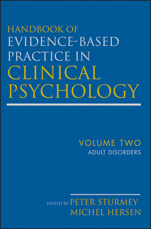 Handbook of Evidence-Based Practice in Clinical Psychology, Volume 2, Adult Disorders (1118144759) cover image