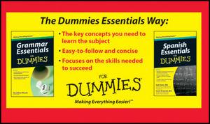 Grammar And Spanish Essentials For Dummies Bundle Spanish Grammars