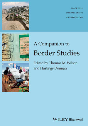 A Companion to Border Studies (1118255259) cover image
