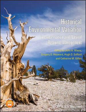 Historical Environmental Variation in Conservation and Natural Resource Management (1118329759) cover image