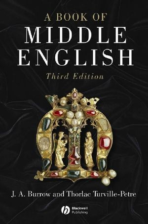 A Book of Middle English, 3rd Edition (1118697359) cover image