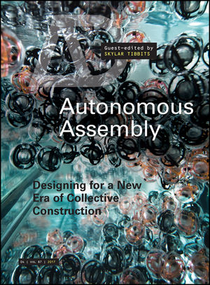 Autonomous Assembly: Designing for a New Era of Collective Construction (1119102359) cover image