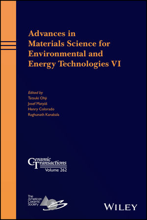 Advances in Materials Science for Environmental and Energy Technologies VI (1119423759) cover image