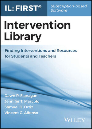 Intervention Library: Finding Interventions, Resources, and Supports for Students with Learning Difficulties, 1st Edition