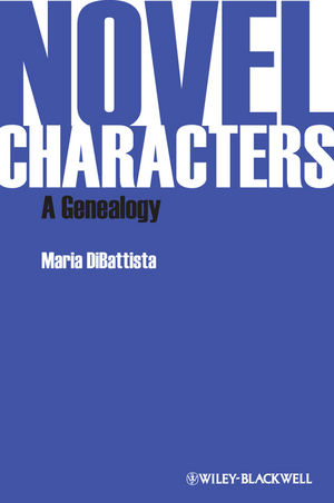 Novel Characters: A Genealogy (1444351559) cover image