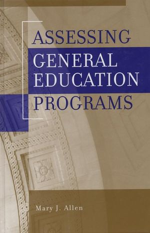 Assessing General Education Programs (1882982959) cover image