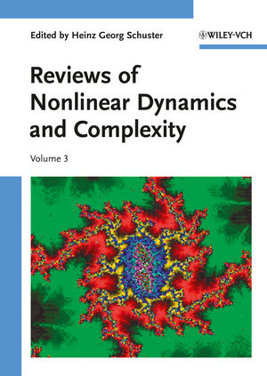 Reviews of Nonlinear Dynamics and Complexity, Volume 3 (3527409459) cover image