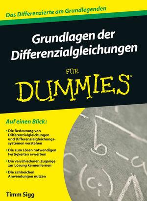 Grundlagen der Differentialgleichungen für Dummies (3527669159) cover image