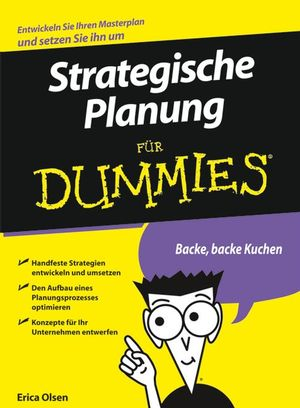 Strategische Planung für Dummies
