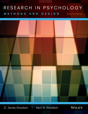 Research In Psychology: Methods and Design, 7th Edition (EHEP002459) cover image