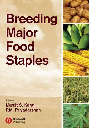 Breeding Major Food Staples (047037635X) cover image