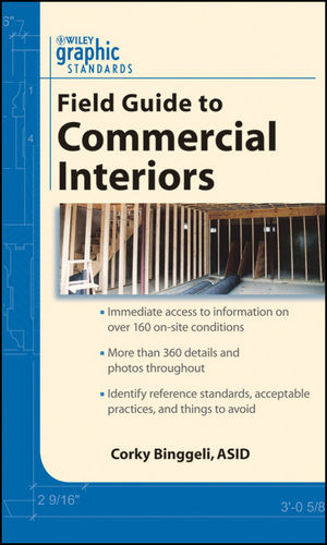 Graphic Standards Field Guide to Commercial Interiors (047041295X) cover image