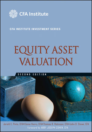 Equity Asset Valuation, 2nd Edition (047057965X) cover image