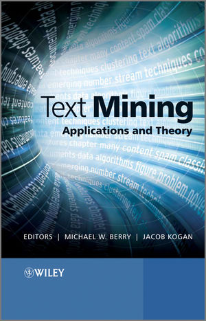 Text Mining: Applications and Theory (047068965X) cover image
