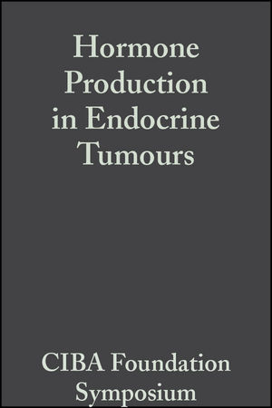 Hormone Production in Endocrine Tumours, Volume 12: Colloquia on Endocrinology (047071655X) cover image
